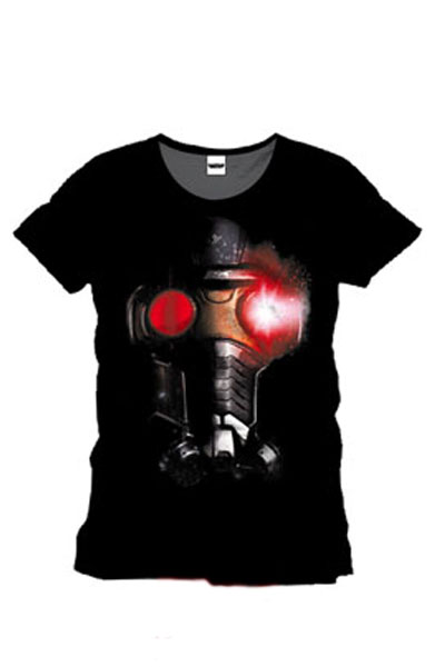 Guardians of the Galaxy T-shirt Star Lord Helmet thumbnail