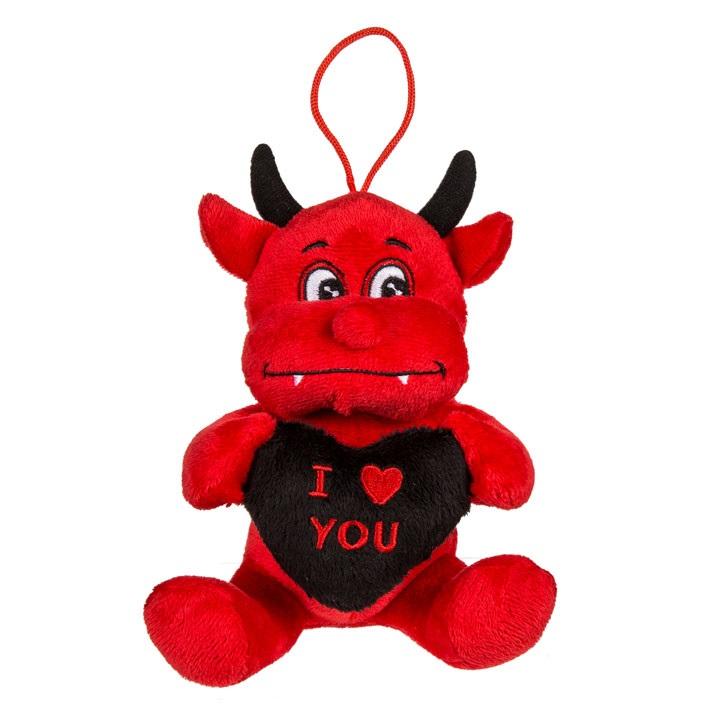 Mjukisdjur Djävul I Love you