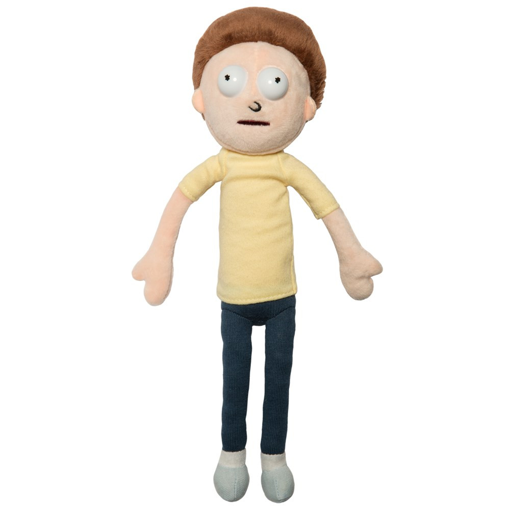 Rick and Morty Plush Morty 22cm thumbnail