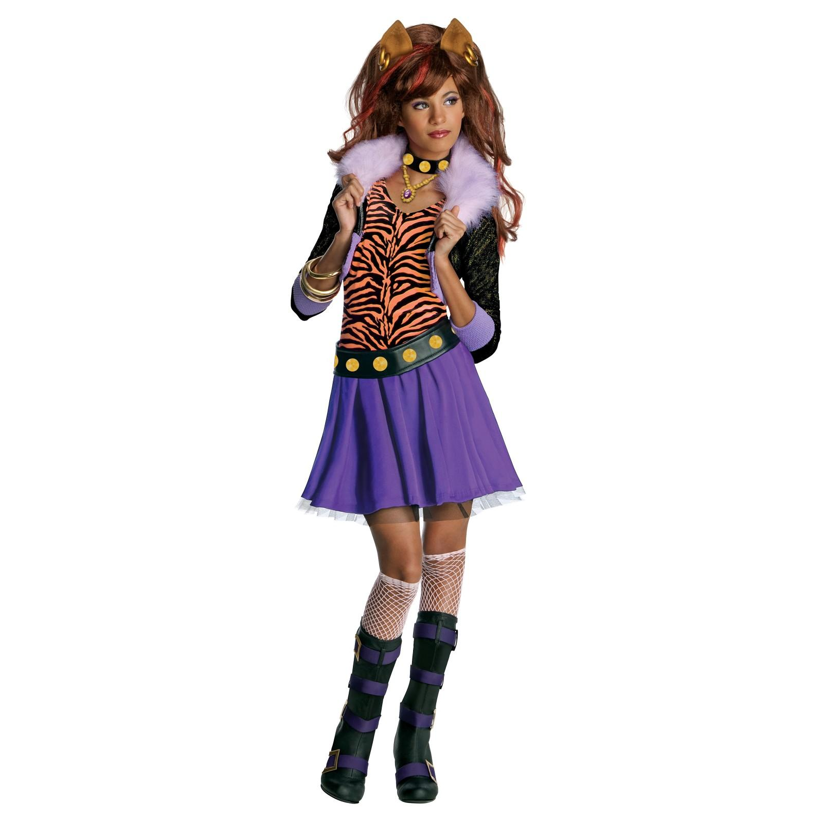 Monster High Clawdeen Maskeraddräkt Barn