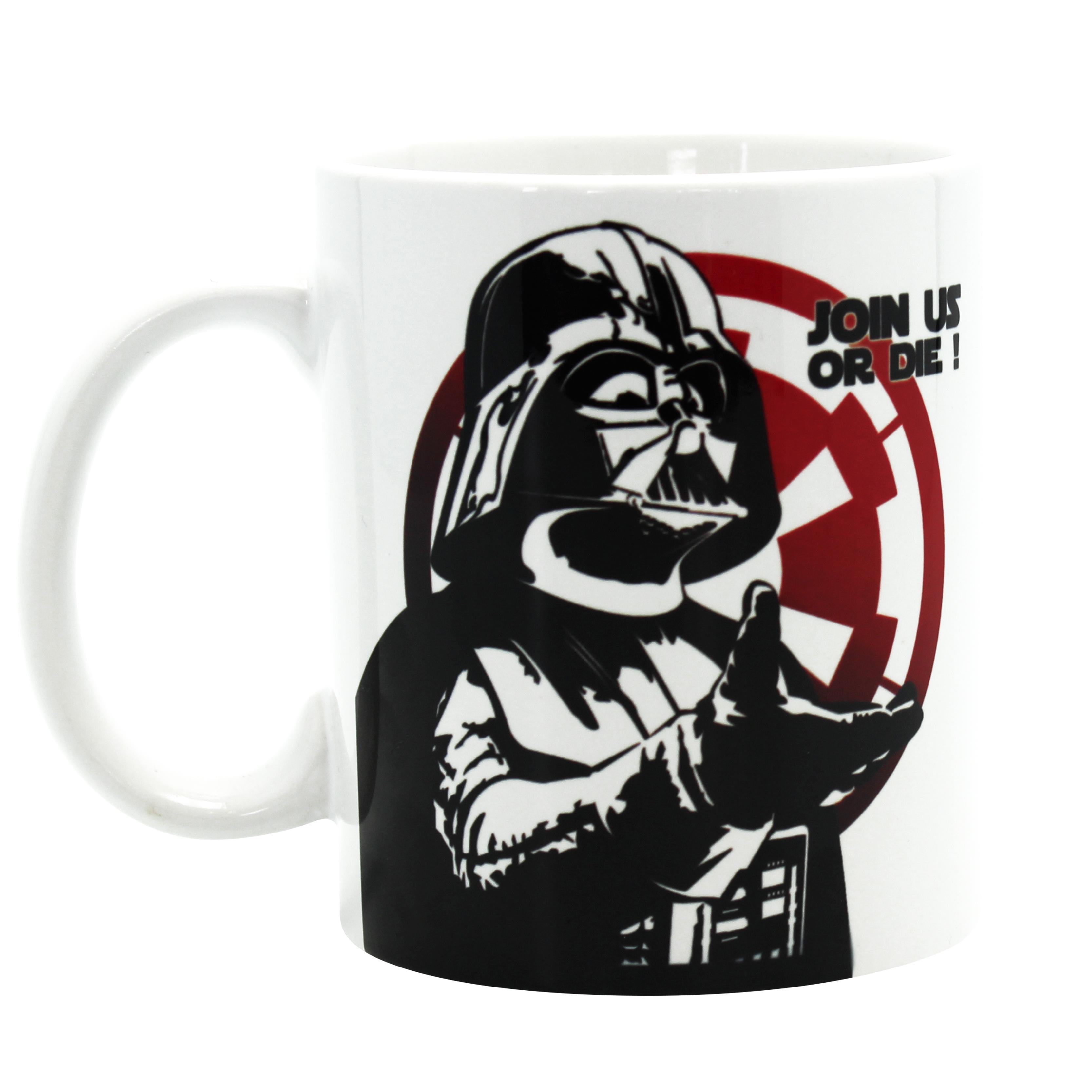Star wars - Darth Vader Join us mugg thumbnail