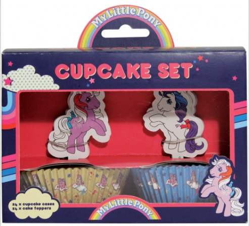My Little Pony-cupcake-set