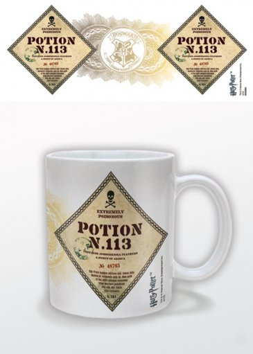 HARRY POTTER - POTION NO.113 MUGG thumbnail