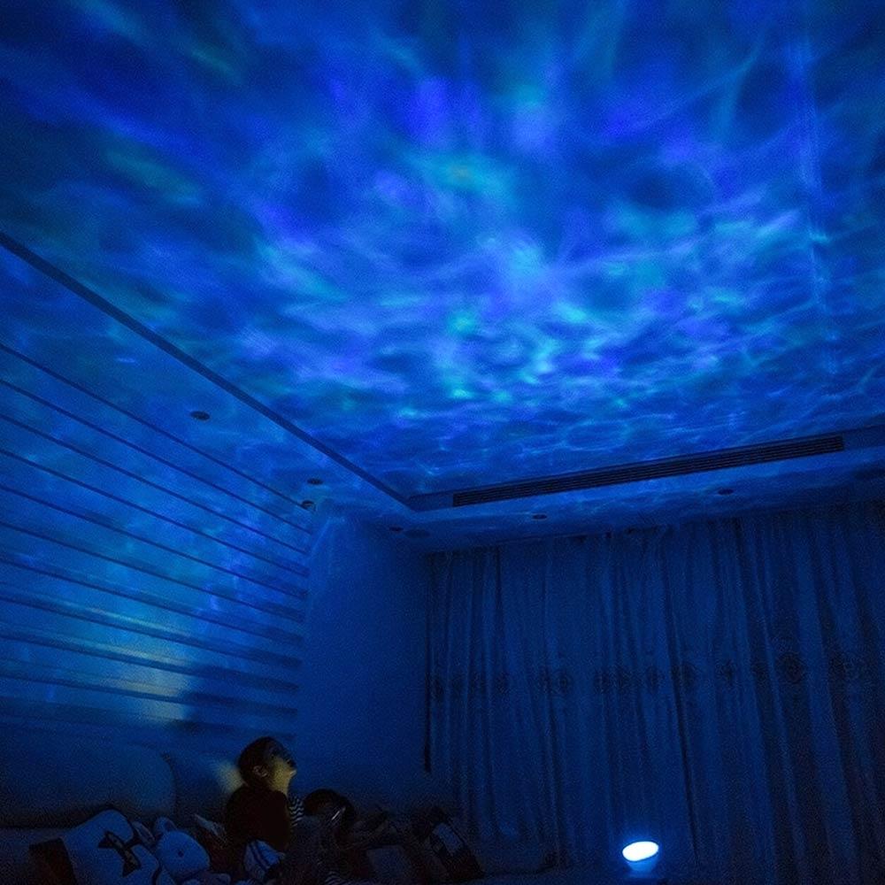 Ocean-projektor med högtalare