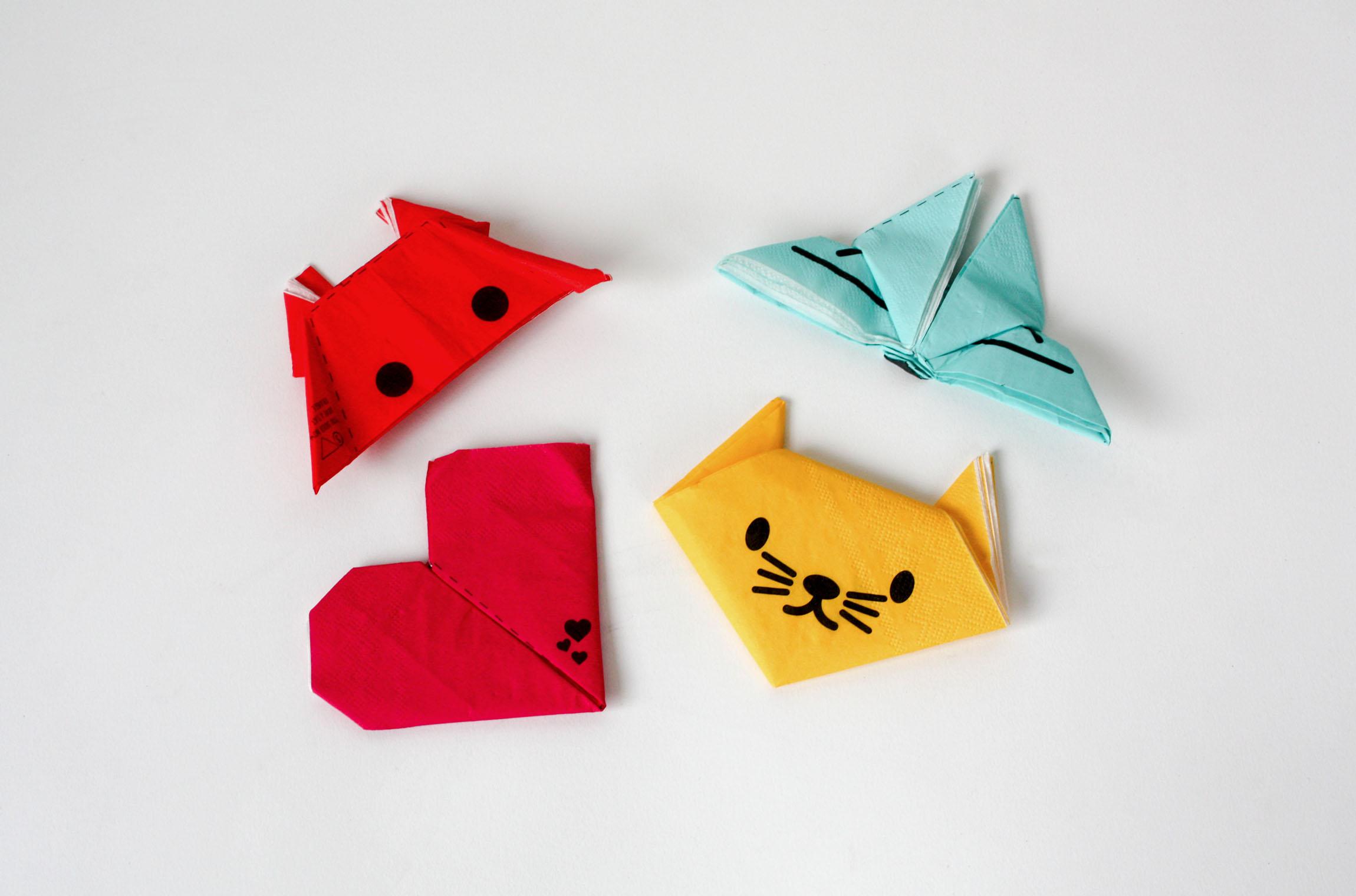 Origami Servetter 20-pack