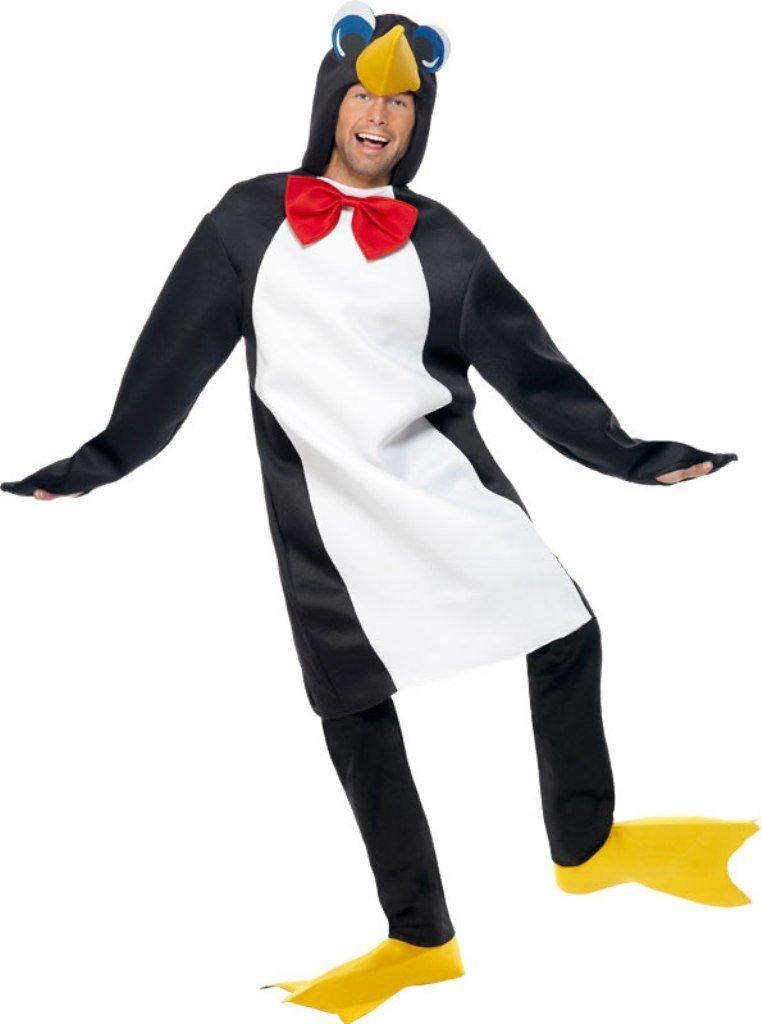 Svartvit Pingvindräkt