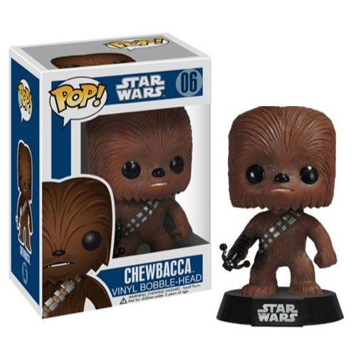 Star Wars Chewbacca Series 1 POP! Vinyl Bobble Figure thumbnail