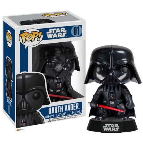 Star Wars Darth Vader Series 1 Vinyl Bobble Figure thumbnail