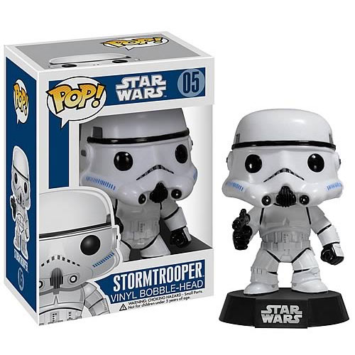 Star Wars Series 1 Stormtrooper POP! Vinyl Bobble Figure thumbnail