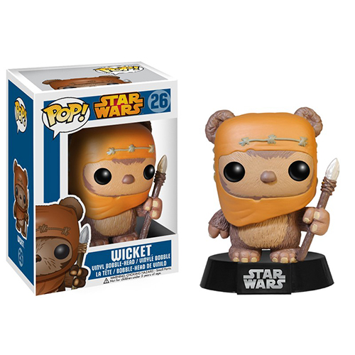 Star Wars Wicket Vinyl Bobble Figure thumbnail
