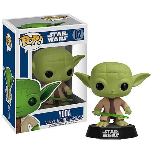 Star Wars Yoda Series 1 POP! Vinyl Bobble Figure thumbnail