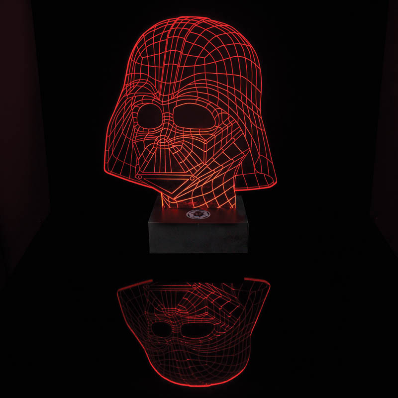 Star Wars Darth Vader 3D Bordslampa