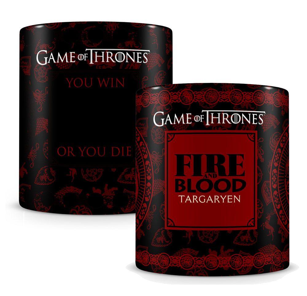 Game Of Thrones Värmekänslig Mugg Targaryen