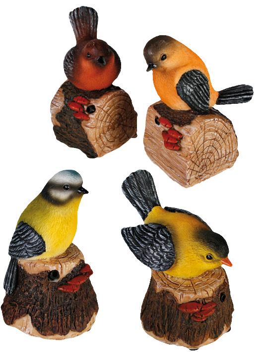 Rörelsekänslig Fågel med ljud