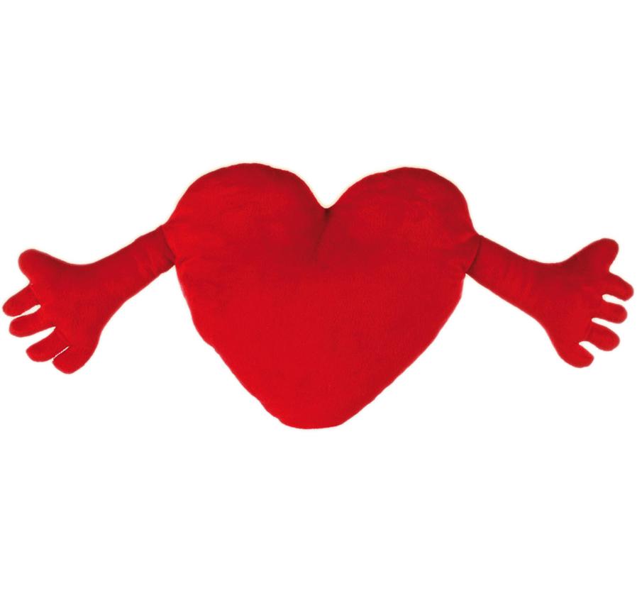 Hjärta med Armar kudde