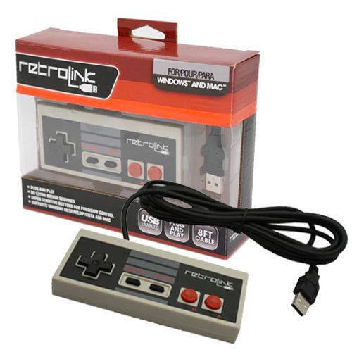 Retro NES USB-Handkontroll thumbnail