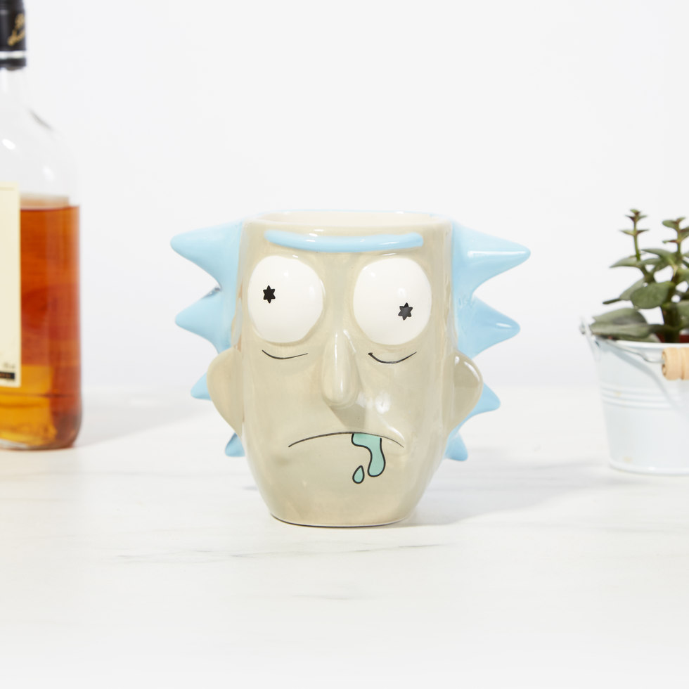 Rick And Morty 3D Mugg Rick