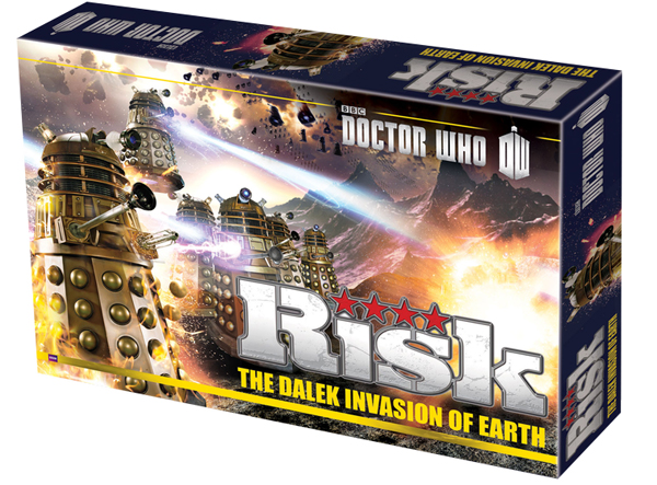 Dr Who Risk the Dalek Invasion of Earth thumbnail