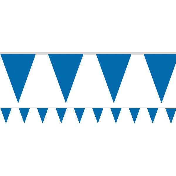 Girlang Blå Vimpel 4,5m