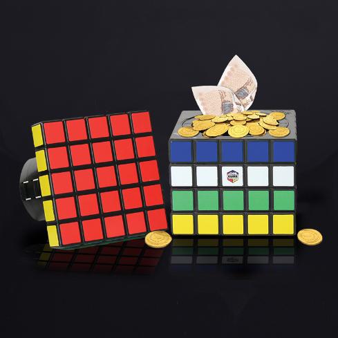 Rubiks kub kassaskåp