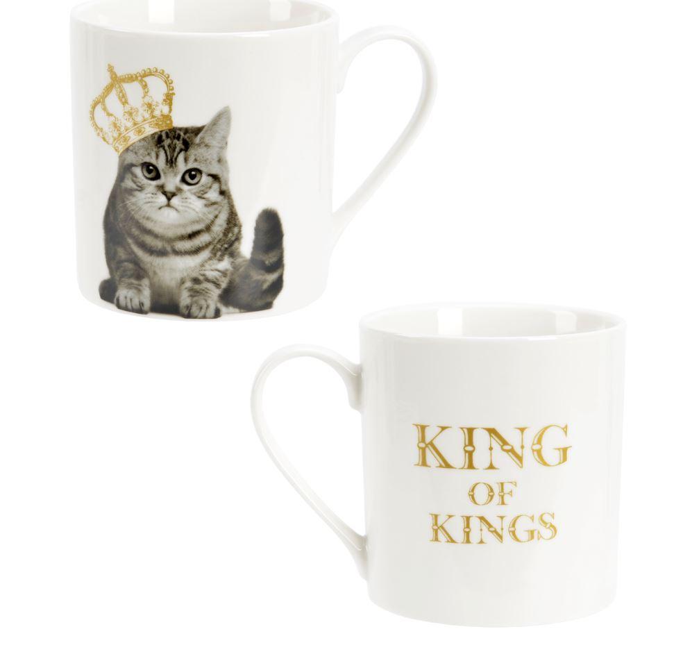 King Of Kings Katt Mugg