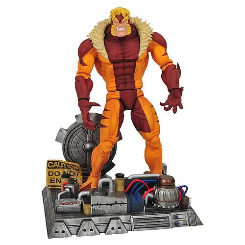 MARVEL SELECT SABRETOOTH ACTIONFIGUR thumbnail