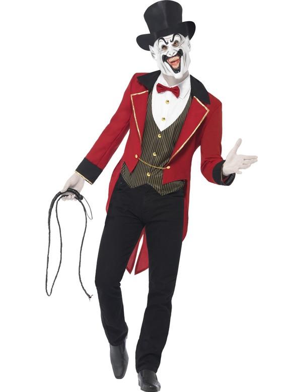Maskeradkläder Vuxna - Ondskefull Cirkusdirektör Maskeraddräkt
