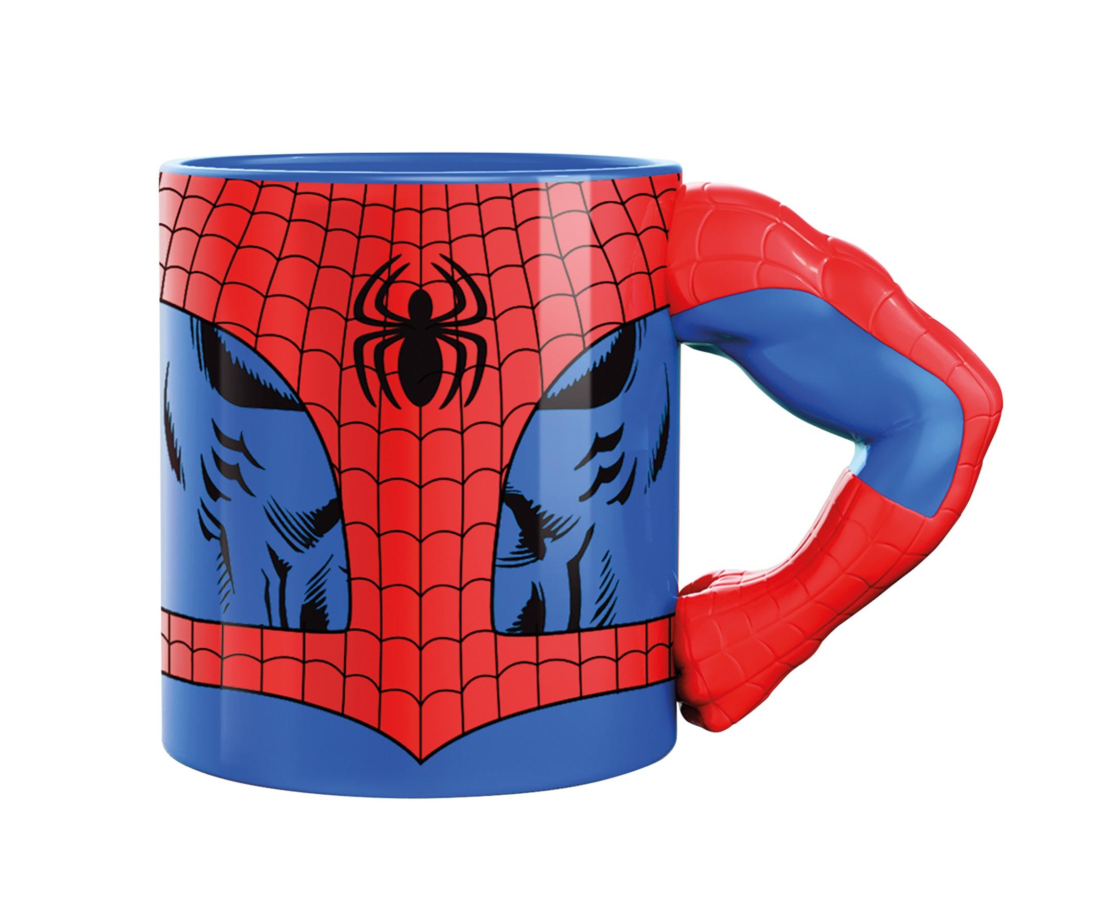 Marvel Mugg Med 3D-Arm Spiderman