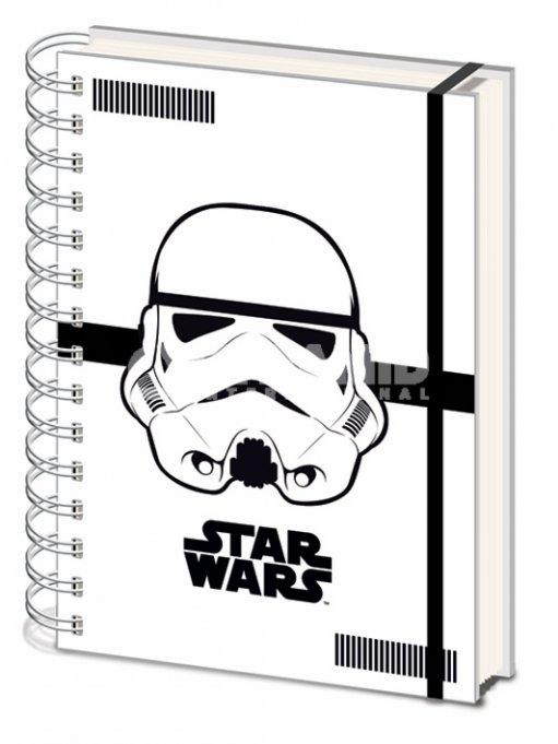 Star Wars Anteckningsblock A5 Stormtrooper thumbnail