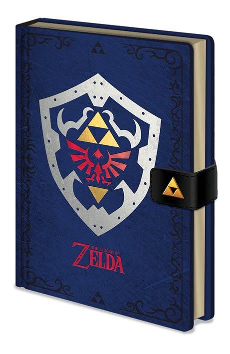 Zelda Hylian Shield Premium Anteckningsbok