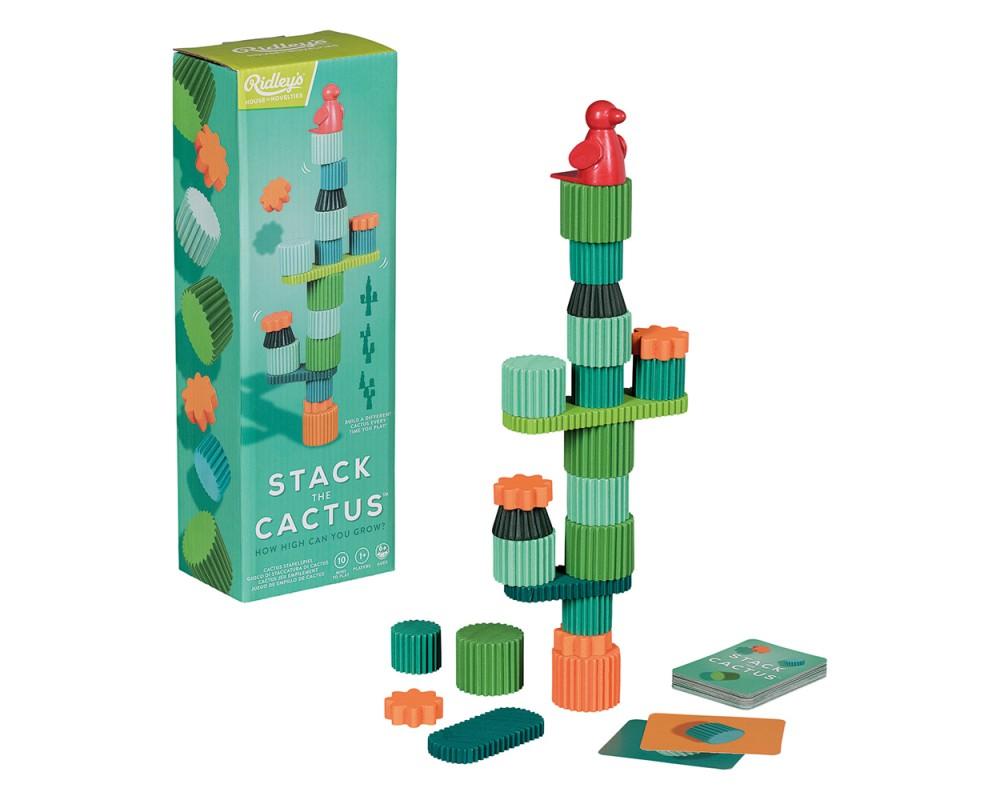 Stapla Kaktusen Spel