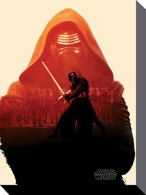 Star Wars Canvas Kylo Ren 60 x 80 cm thumbnail