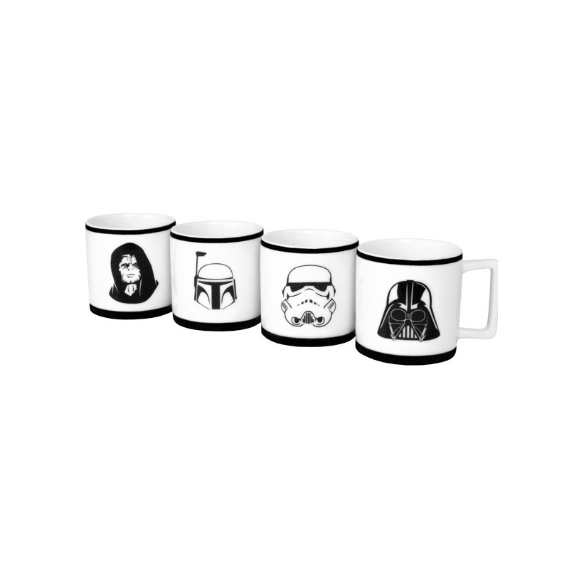 Star Wars Espressomuggar 4-pack thumbnail
