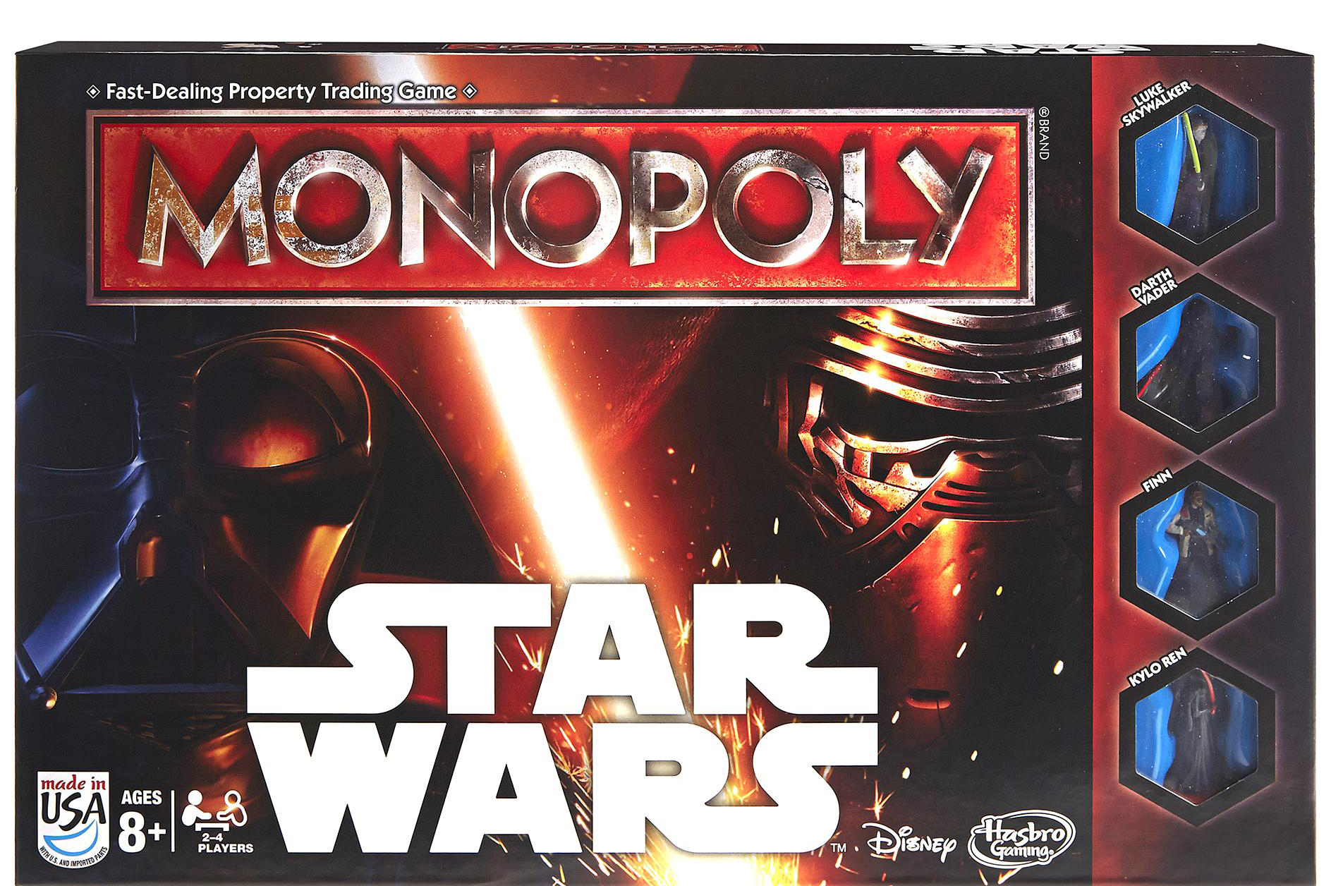 STAR WARS MONOPOL - THE FORCE AWAKENS EDITION thumbnail