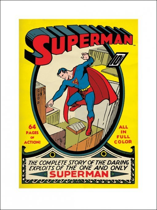 SUPERMAN (NO1) 60X80 POSTER thumbnail