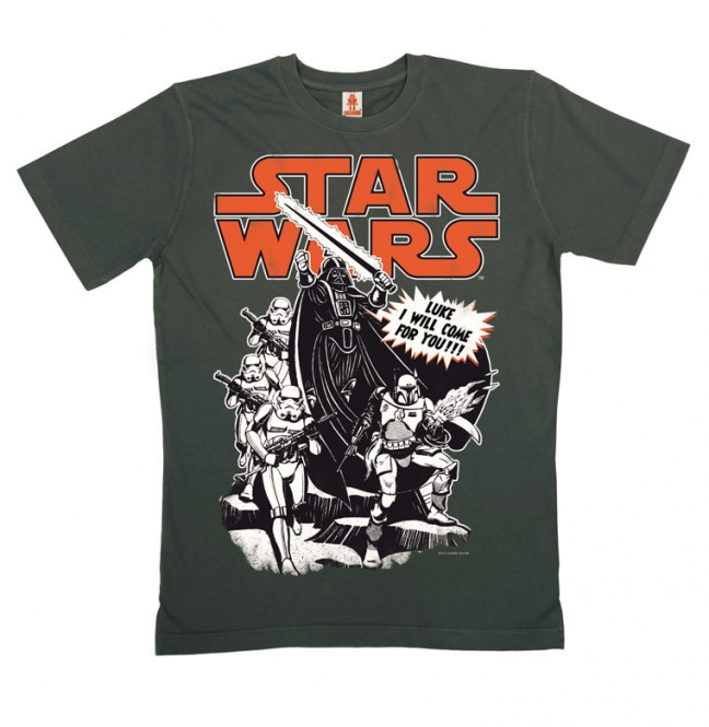 Star Wars T-shirt Eko Luke I Will Come For You