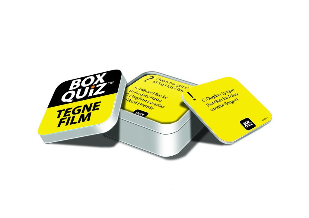 Box Quiz Tegnefilm