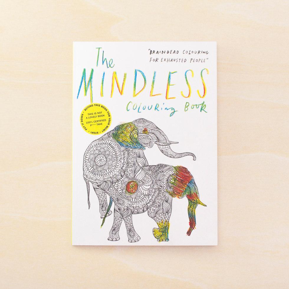The Mindless Målarbok För Vuxna