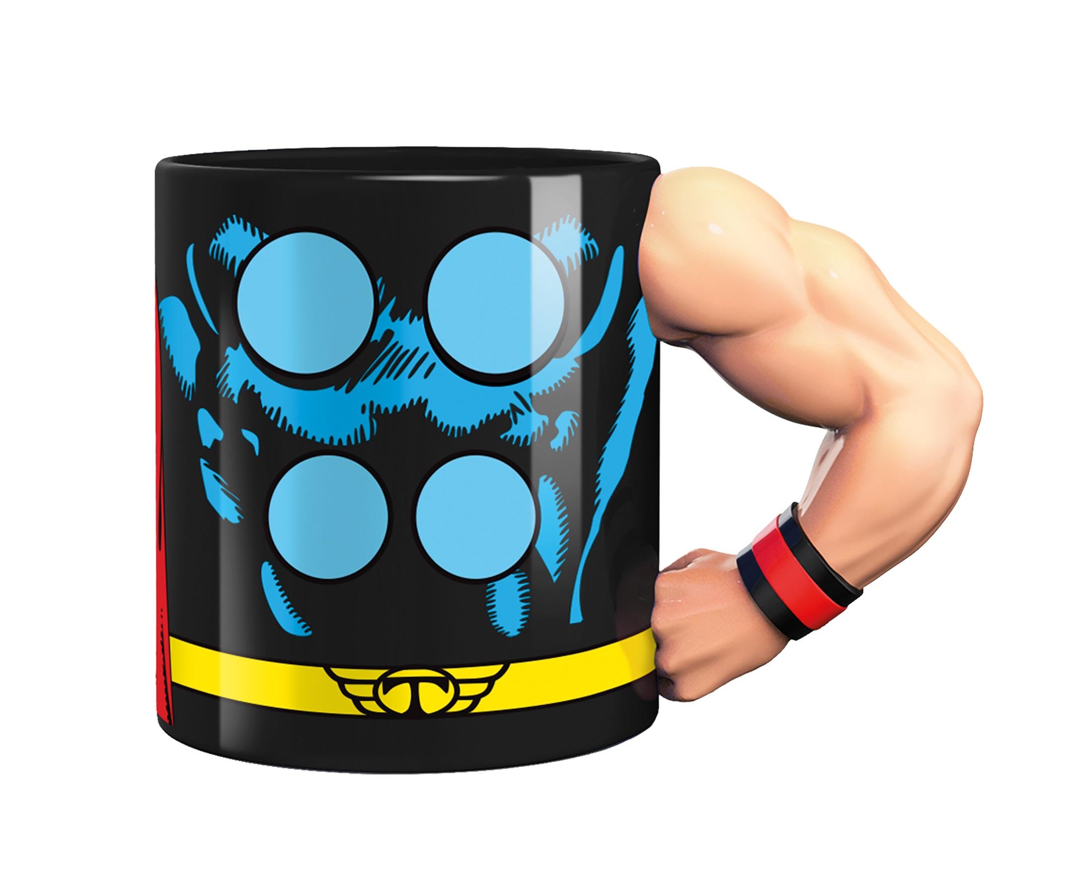 Marvel Mugg Med 3D-Arm Thor