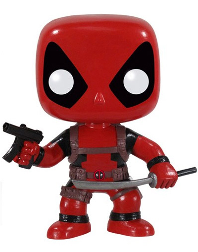Marvel Comics POP! Vinyl Deadpool thumbnail
