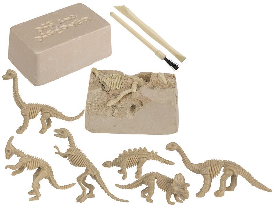Utgrävningskit Dinosaurie