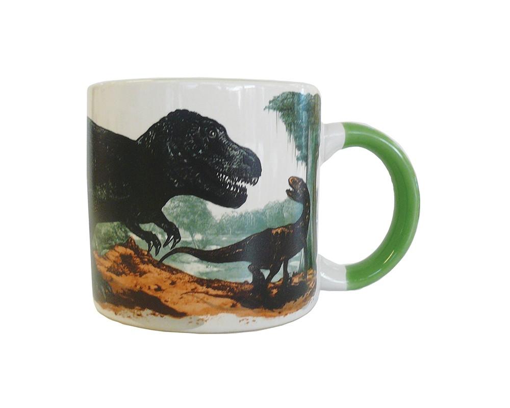 Värmekänslig mugg dinosaurier