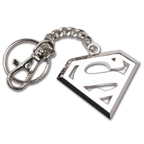 Superman Nyckelring Rostfritt Stål