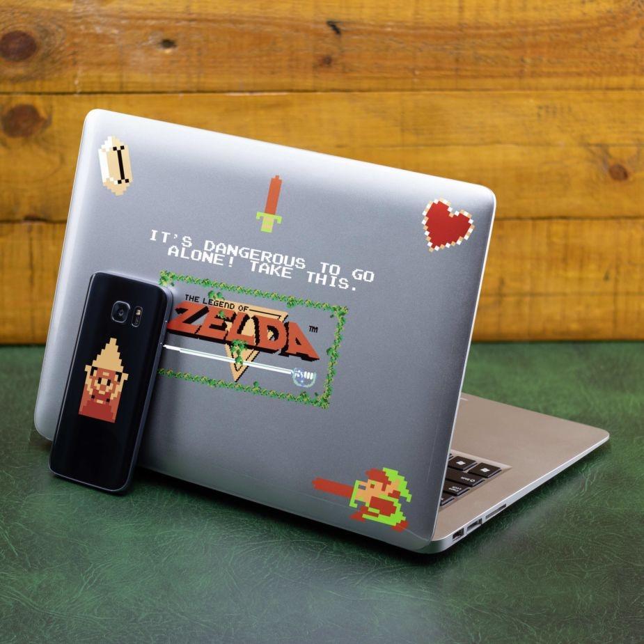 Zelda 8-bitars Gadget Dekaler