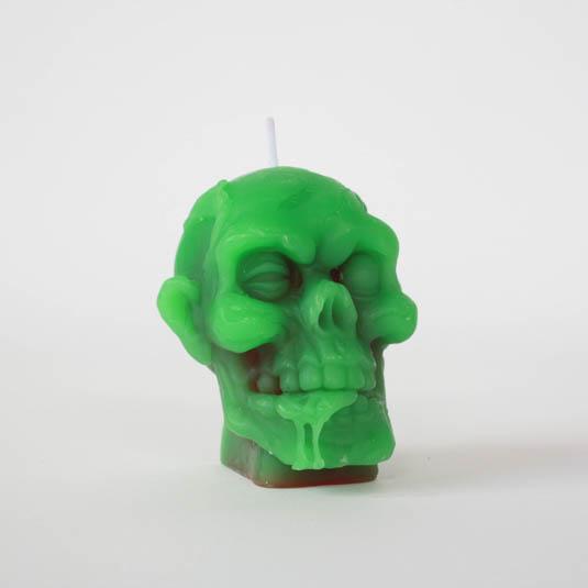 Ljus Zombie Huvud