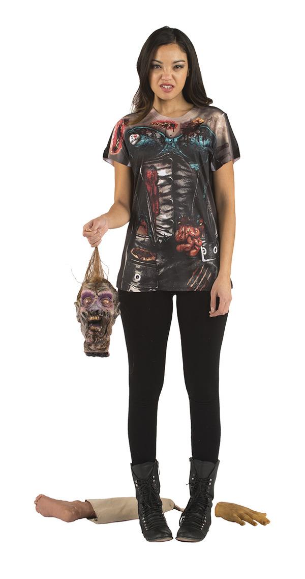 Zombie Korsett T-Shirt